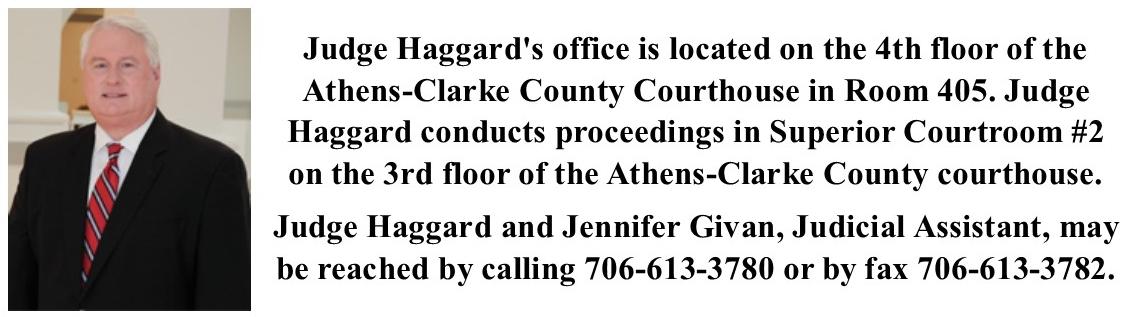 H  Patrick Haggard   Superior Court Judge, Western Judicial